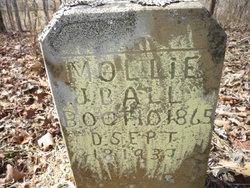 """Mary """"Mollie"""" <I>McDaniel</I> Ball"""