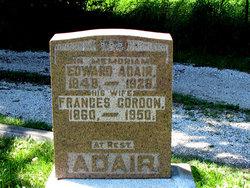 Frances <I>Gordon</I> Adair