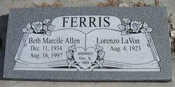 Beth Marcile <I>Allen</I> Ferris