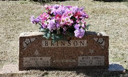 Mary Emma <I>Simpson</I> Brinson