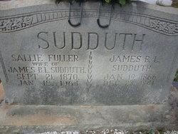 "Sarah Barton ""Sallie"" <I>Fuller</I> Sudduth"