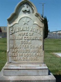 Sarah Ann <I>Haight</I> Cornell