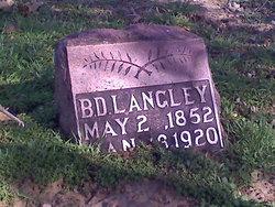 "Benedict D. ""B. D."" Langley"