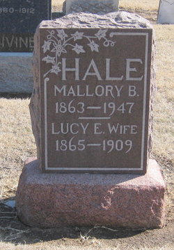 Lucy E. <I>Cunningham</I> Hale