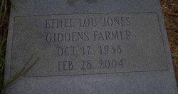 ETHEL <I>JONES</I> FARMER