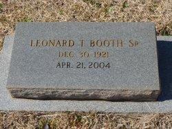 """Leonard Templeton """"L.T."""" Booth Sr."""