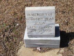 Dorothy Jean Cain