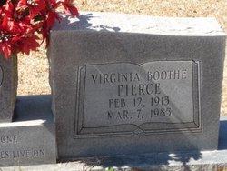 Virginia <I>Boothe</I> Pierce