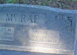 Pearl A McRae