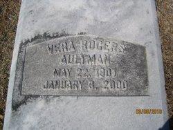 Vera <I>Rogers</I> Aultman
