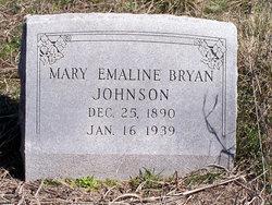 Mary Emaline <I>Bryan</I> Johnson