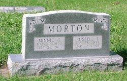 Minnie Clyde <I>Brumbaugh</I> Morton