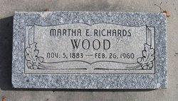 Martha Elizabeth <I>Richards</I> Wood