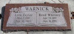 Reed Whitney Warnick