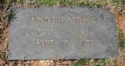 Myrtle <I>Yarborough</I> Belk