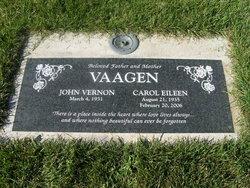 Carol Eileen <I>Christianson</I> Vaagen
