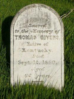 Col Thomas R Givens