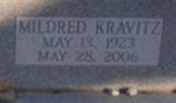 "Mildred ""Mitzi"" <I>Kravitz</I> Kiesel"