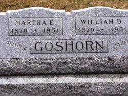 Martha Elizabeth <I>Hoopengardner</I> Goshorn