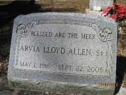 Arvia <I>Lloyd</I> Allen, Sr