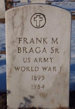 Frank M Braga, Sr