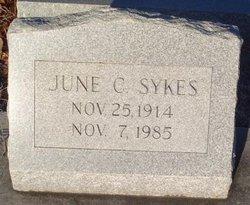 June C Sykes