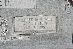 Mildred <I>Boutwell</I> Carter