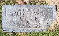 Emily <I>Bryant</I> Cheser