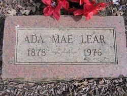 Ada Mae <I>Morehead</I> Lear