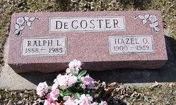 Hazel Olive <I>Hicks</I> Decoster