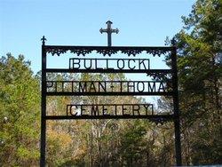 Bullock Pittman Thomas Cemetery
