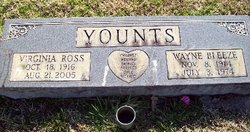 Virginia H. <I>Ross</I> Younts