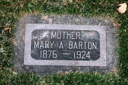 Mary Ann <I>Clark</I> Barton