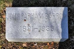 John Parham Barrow