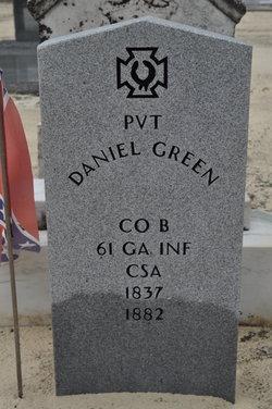 Pvt Daniel Green