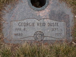 Georgie <I>Reid</I> Duste