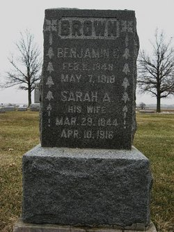 Sarah Anne <I>Lewis</I> Brown