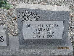 Beulah Vesta Abrams