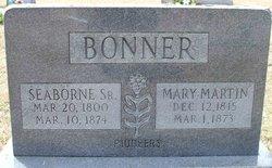Mary <I>Martin</I> Bonner