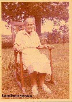 Mary Emma <I>Boone</I> Huckabay