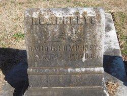 David G Humphreys