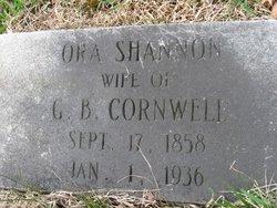 Ora <I>Shannon</I> Cornwell