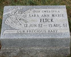 Sara Ann Marie Flick