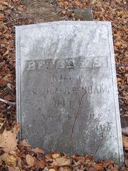 Betsey S <I>Root</I> Benham