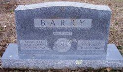 Annie <I>Lee</I> Barry