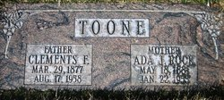 Ada Jane <I>Rock</I> Toone