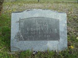 Lucy Margaret <I>Bass</I> Richardson