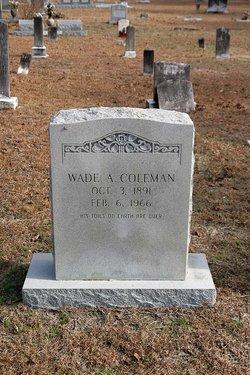 Wade Arleton Coleman