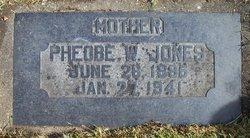 Pheobe Ruth <I>Wise</I> Jones