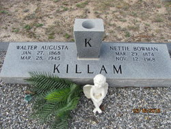 Nettie <I>Bowman</I> Killam